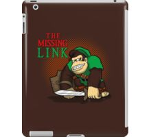The missing link  iPad Case/Skin