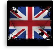 United Kingdom Flag Canvas Print
