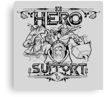 Hero Support Canvas Print