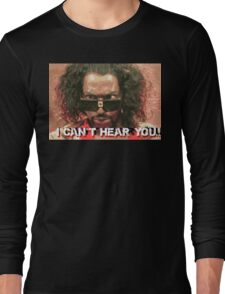 The Last Dragon - Sho Nuff can't hear you Long Sleeve T-Shirt