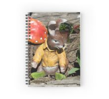 Funny easter bunny Spiral Notebook