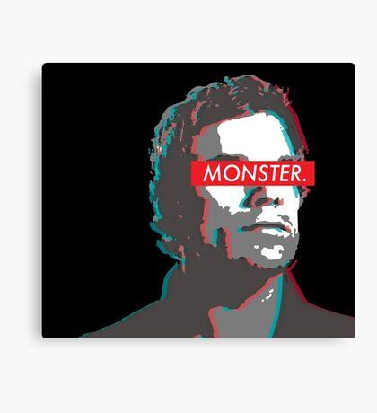 Dexter: MONSTER 3D  Canvas Print