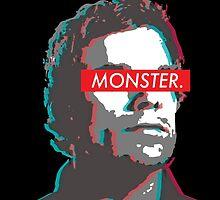 Dexter: MONSTER 3D  by Wellshirt