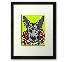 Wolf Dog Mushrooms  Framed Print