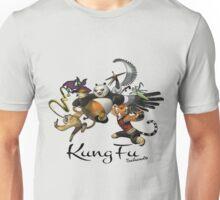 Kungfu Panda 3 At Kungfu Schools Unisex T-Shirt