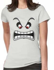 Thwomp face ! Womens Fitted T-Shirt