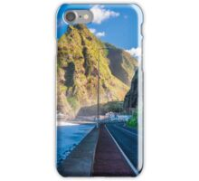 Empty road on Maderia island iPhone Case/Skin