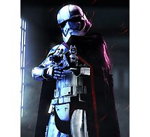 Star wars force awakens Trooper Photographic Print