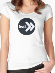 [FWD:001] FWD. Women's Fitted Scoop T-Shirt