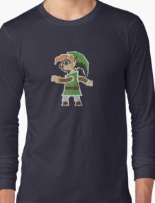 Link Between Two Worlds stuck on your shirt Long Sleeve T-Shirt