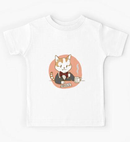 Kitty Boss [Redbubble Art Party] Kids Tee