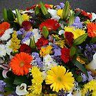 Bucket full of bouquets by Arie Koene