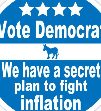 Vote Democrat... Sticker