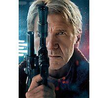 Star wars force awakens Han Solo Photographic Print