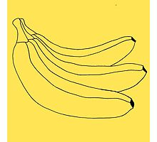 The Simple Banana Photographic Print