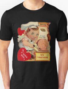 vintage valentine creepy butcher T-Shirt