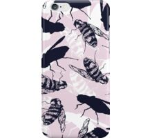 Quirky bee repeat iPhone Case/Skin
