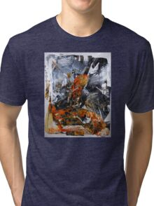 If you can't stand the heat get out of the kitchen - Original BIG Wall Modern Abstract Art Painting Tri-blend T-Shirt