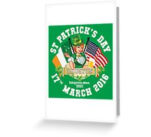 St Patricks Day Celebrations - City Of Houston Greeting Card