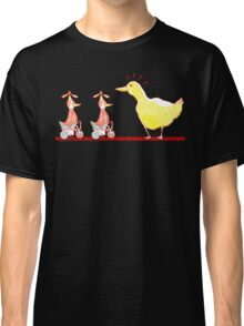 Ducks in a Row Classic T-Shirt