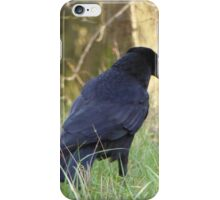 Candid Crow iPhone Case/Skin