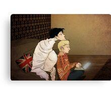 I'm bored - Sherlock  Canvas Print