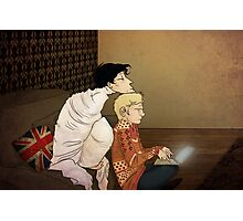 I'm bored - Sherlock  Photographic Print