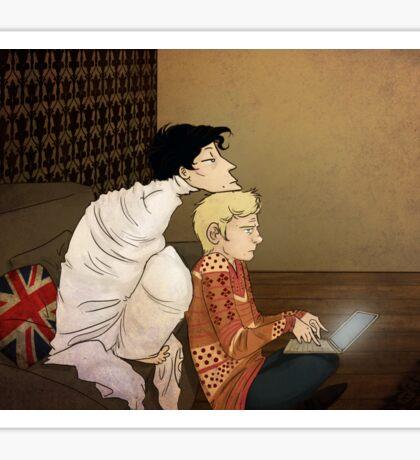 I'm bored - Sherlock  Sticker