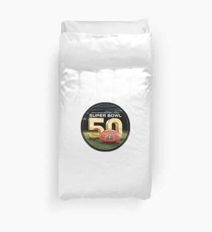 SUPER BOWL 50 Duvet Cover