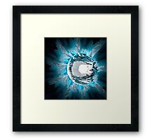 Abstract - Refractive Ball V2.0 Framed Print