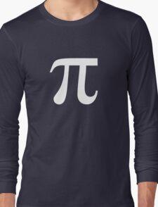 Pi (white) Long Sleeve T-Shirt