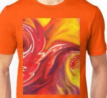 Hot Abstract Flames Decorative Art Unisex T-Shirt