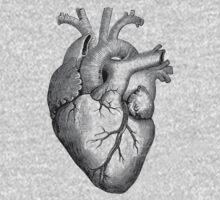 Anatomical Heart One Piece - Long Sleeve