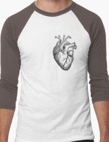 Anatomical Heart Men's Baseball ¾ T-Shirt