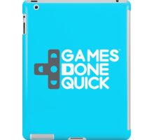 Awesome Games Done Quick (AGDQ) iPad Case/Skin