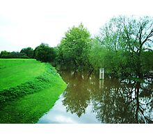 Beauty of the Flood Photographic Print