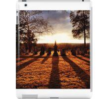 Cemetery Chess iPad Case/Skin