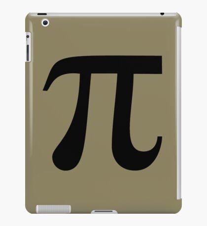Pi (black) iPad Case/Skin