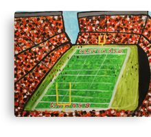 Cleveland Stadium Canvas Print