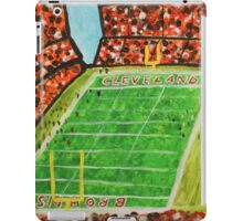 Cleveland Stadium iPad Case/Skin