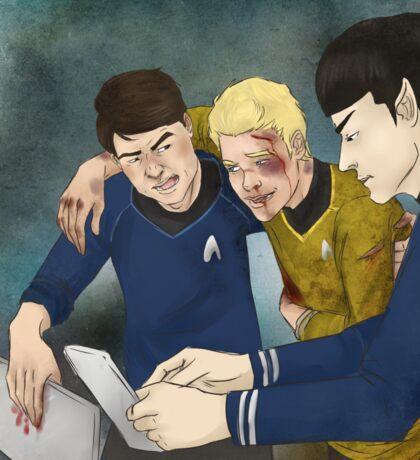Dammit Spock Sticker