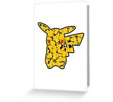 Pokemon 20th Year Anniversary pikachu Greeting Card