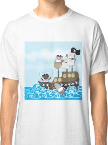 Rubbity Dub...three pirate pigs in a tub Classic T-Shirt