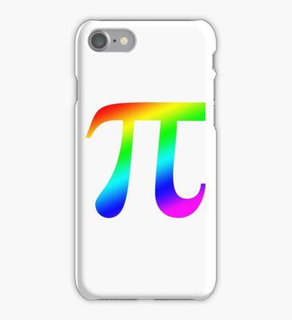 Pi (rainbow) iPhone Case/Skin