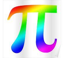 Pi (rainbow) Poster