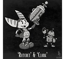 0033 - Retro Ratchet & Clank Photographic Print