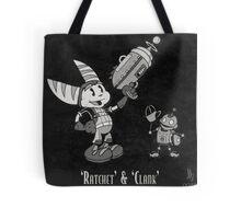0033 - Retro Ratchet & Clank Tote Bag