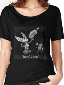0033 - Retro Ratchet & Clank Women's Relaxed Fit T-Shirt