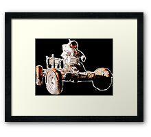 Lunar Rover - The Moon Car! Framed Print