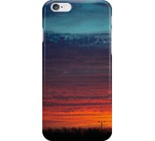 Sunrise In The Country iPhone Case/Skin